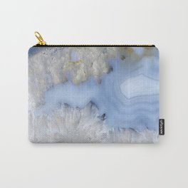 Provincial blue agate couple Carry-All Pouch