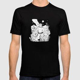 the space cowboy T-shirt