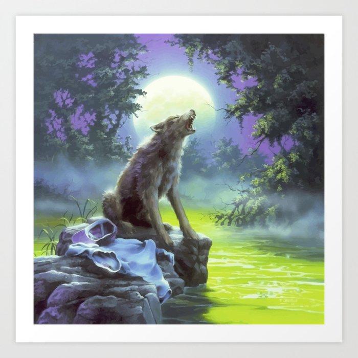 The Werewolf of Fever Swamp Kunstdrucke