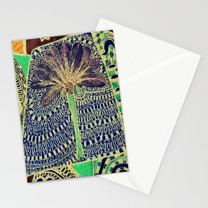 Jardin 4 Stationery Cards