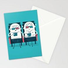 :::Cinema Couple::: Stationery Cards
