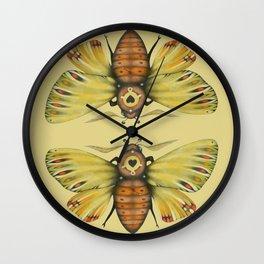 Moth n. 1 (ORIGINAL SOLD). Wall Clock