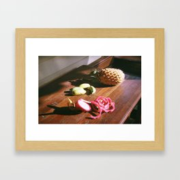 Thailand on Film Framed Art Print