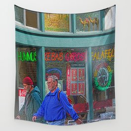 Gyros of Seattle Wall Tapestry