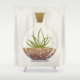 Terrarium Shower Curtain