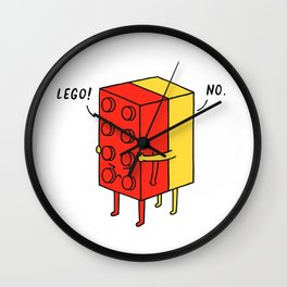 I'll Never Le Go Wall Clock