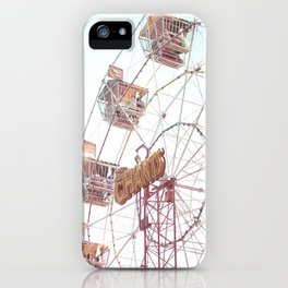 Let's Play Big Wheel iPhone Case