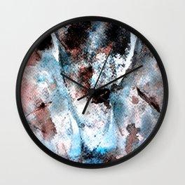 smoke out Wall Clock