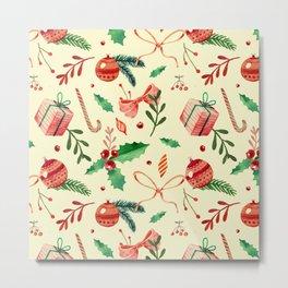 MERRY CHRISTMAS4 Metal Print
