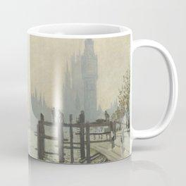 The Thames below Westminster by Claude Monet Coffee Mug