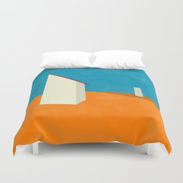 A different Pulse Duvet Cover