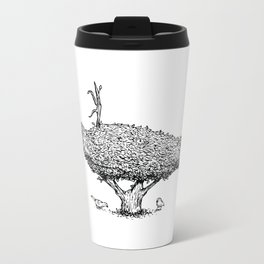 Topiary Metal Travel Mug