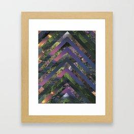 Ascension - Purple Framed Art Print