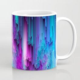 Neon Drifting - Pixel Art Coffee Mug