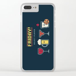 Select Player Clear iPhone Case