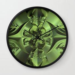 Cool Green of Summer Wall Clock