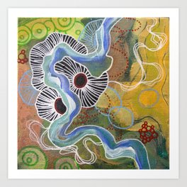 Whimsy2 Art Print