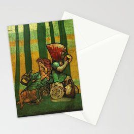 The Fox and the Girl Stationery Cards