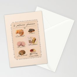 Lovely French Patisserie  Stationery Cards