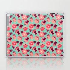 flat flowers - pattern Laptop & iPad Skin