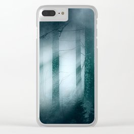 Through the mist Clear iPhone Case