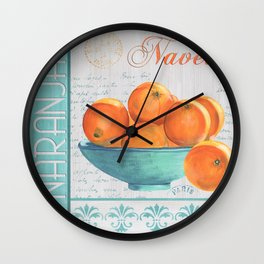 Valencia 3 Wall Clock