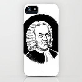 Johann Sebastian Bach iPhone Case