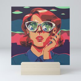 Contact Mini Art Print