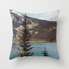 We are just so small Throw Pillow