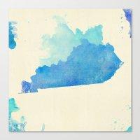 kentucky Canvas Prints featuring Kentucky Nocturne by Matthew Taylor Wilson