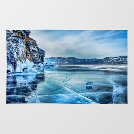 Lake Baikal. March Rug