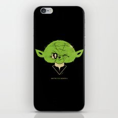 StarWars May the Force be with you (green vers.) iPhone & iPod Skin