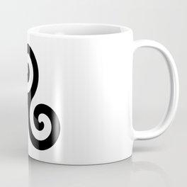 Triskele 5 -triskelion,triquètre,triscèle,spiral,celtic,Trisquelión,rotational Coffee Mug