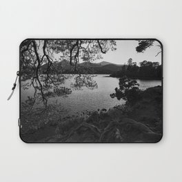 derwentwater through the trees from friars crag Laptop Sleeve