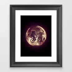 E.T.B. (variant 3) Framed Art Print