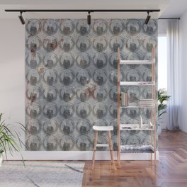 Anonymous Pattern Wall Mural