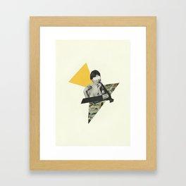 See You Sunday Framed Art Print
