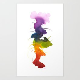Little Chakra Tree Art Print