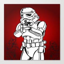 soldado Canvas Print