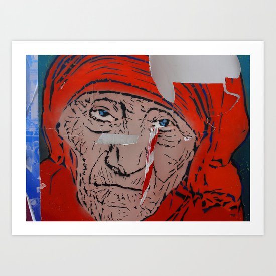 Mother Teresa crying a warning by szafar