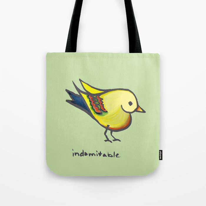 Indomitable Heartbird I Created for My Mom Tote Bag
