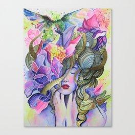 Garden Nymph Canvas Print
