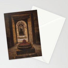 Exploring Pashupatinath Temple in Kathmandu City, Nepal Stationery Cards