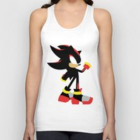 shadow Tank Tops featuring Shadow by JHTY