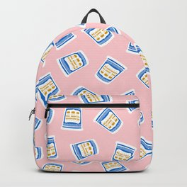 New York Deli Coffee Pattern Backpack
