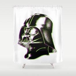 Dot Vader Shower Curtain
