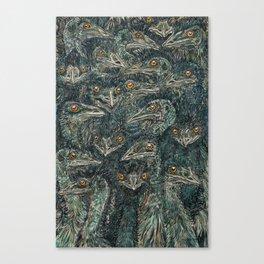 Emus Canvas Print