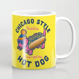 Da Chicago Dog With Text Coffee Mug