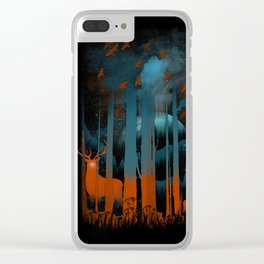 NIGHT NEGATIVITY Clear iPhone Case