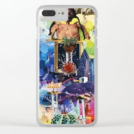 Spinal Palace Clear iPhone Case